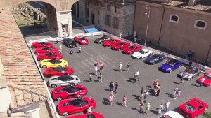 2015年法拉利盛会 意大利罗马盛大开启