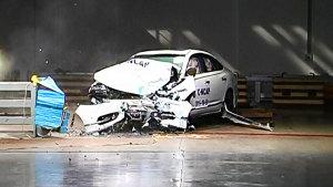C-NCAP碰撞测试 本田思铂睿荣获五星