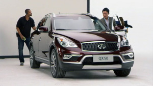 2015款东风英菲尼迪QX50 起售价34.98万