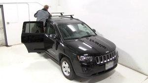 Jeep指南者操作篇 车顶行李架安装演示