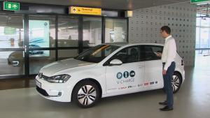 大众V-Charge 自动驾驶充电停车演示