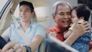 丰田传递正能量 拥抱生命系好安全带