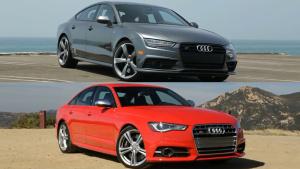 2016款奥迪S7 vs S6 外观动力细节对比