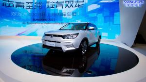 双龙蒂维拉 搭载1.6L自然吸气发动机