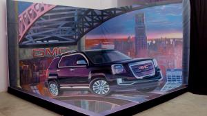 2016款GMC Terrain 3D街头艺术展示