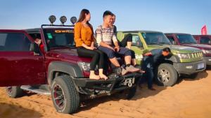 北京汽车BJ40沙漠狂欢 阿拉善英雄会