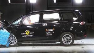 福特Galaxy7座MPV E-NCAP碰撞测试
