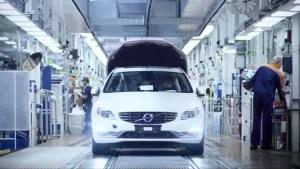 沃尔沃成都工厂探秘 生产最安全的汽车