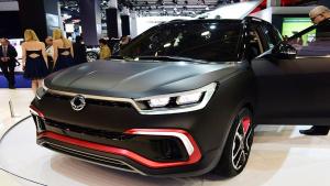 2015法兰克福车展 全新双龙XLV-Air发布