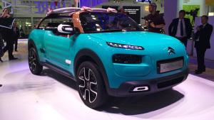 2015法兰克福车展 雪铁龙Cactus M登场