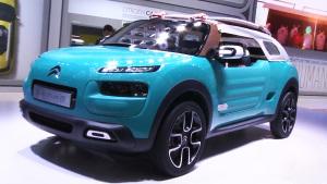 2015法兰克福车展 雪铁龙概念车亮相
