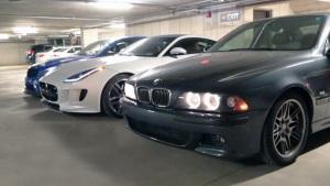 三款性能车 V8发动机销魂声浪展示