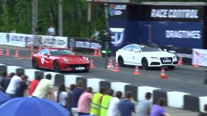 2015直线加速 奥迪RS7秒杀法拉利F12