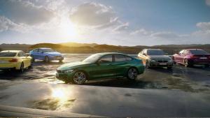新款宝马4系轿跑 五款特殊配色惊艳登场