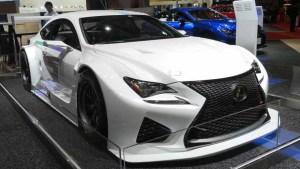 2015东京车展 雷克萨斯RC F GT3登场