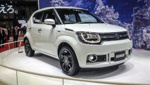 2015东京车展 新款铃木IGNIS小型车