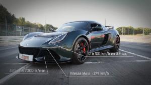 路特斯Exige S V6 百公里加速仅3.9秒