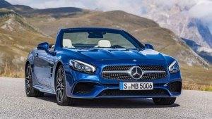 新款奔驰SL 500 搭载全新9速自动变速箱
