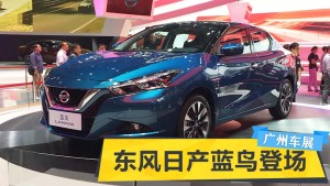 2015广州车展 东风日产蓝鸟华丽登场