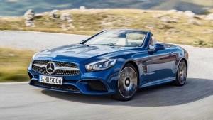 新款奔驰SL 500动态 搭载4.7升V8发动机
