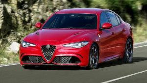 阿尔法·罗密欧Giulia 最大功率375kW