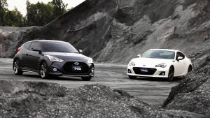2015款斯巴鲁BRZ vs现代飞思 Turbo