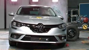 全新一代雷诺梅甘娜 E-NCAP碰撞测试