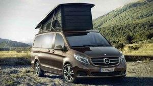 奔驰马可波罗房车 可提供四人睡眠空间