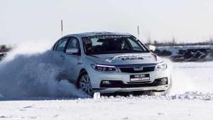 2015观致汽车牙克石挑战 冰雪漂移