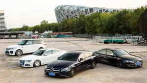 VOSSEN世界巡演 超酷改装车汇聚北京