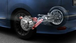 上汽大通G10 自动行车高度控制系统