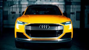 奥迪h-tron概念 搭载燃料电池动力系统