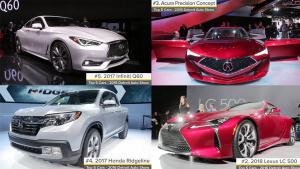 2016北美车展 盘点五大热门车型