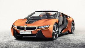 宝马全新概念车 数字化驾驶座舱设计