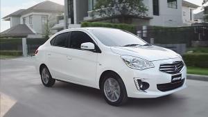 全新三菱Attrage小型轿车 更运动时尚