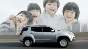 全路况SUV五十铃mu-X 让生活充满乐趣
