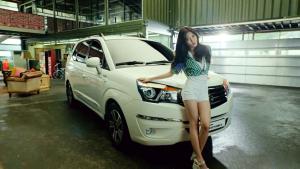 城市SUV双龙柯兰多 韩国女团热舞助阵