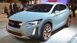 2016日内瓦车展 斯巴鲁XV概念车发布