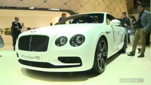 2016日内瓦车展 宾利飞驰V8 S强悍登场