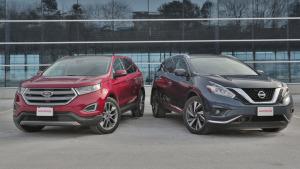 大中型SUV对比 日产楼兰VS福特锐界