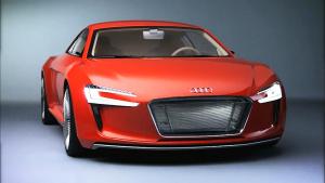 奥迪e-tron概念车 纯电动高性能跑车