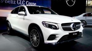 2016纽约车展 奔驰GLC Coupe正式发布