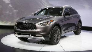 2016纽约车展 英菲尼迪QX70 Limited