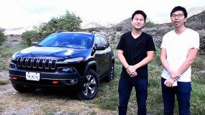 试驾Jeep自由光Trailhawk 越野性能体验