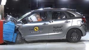 铃木Baleno两厢轿车 E-NCAP碰撞测试