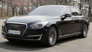 2016款现代捷恩斯EQ900 全新旗舰轿车