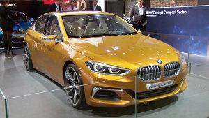 2016北京车展 宝马Compact Sedan展示