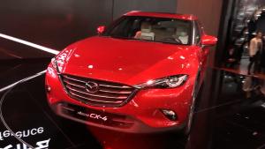 2016北京车展 马自达CX-4首发亮相