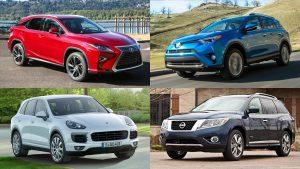 七款最佳混动版SUV赏析 丰田RAV4打头阵