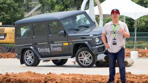 体验奔驰多款SUV越野性能 G级表现出色